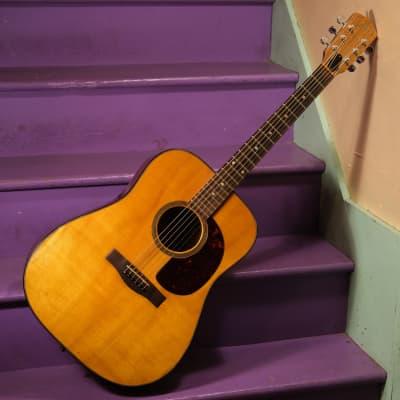 1976 Levin W36 Dreadnought Guitar (Short Scale, Vintage) for sale