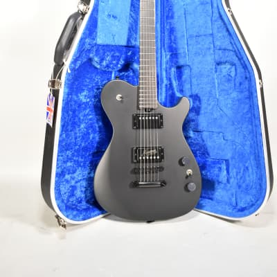 2019 Manson MA EVO Dry Satin Black Finish Electric Guitar w/OHSC for sale