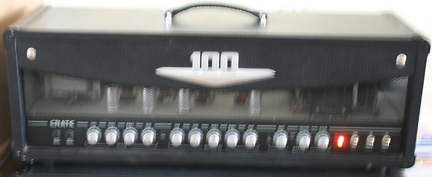 Crate V100h 100 Watt Tube Guitar Amp Head Amplifier Class