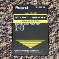 "Roland SN-R8-02 ""Jazz Brush"" Sound Data Rom for R-8"