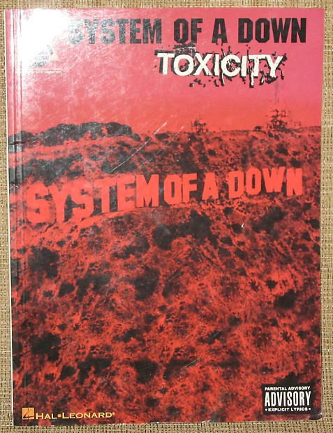 Hal Leonard Songbook System Of A Down Toxicity 20 Off Reverb