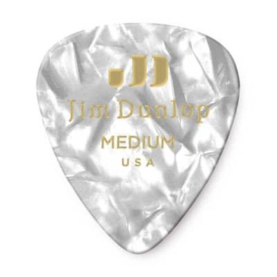 Dunlop 483R04MD Celluloid Standard Classics Medium Guitar Picks (72-Pack)