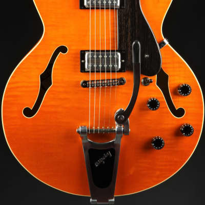 Heritage KB Groove Master - Vintage Orange Translucent/Upgraded Top & Back/Hand Selected