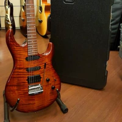 Music Man LUKE III BFR (Ball Family Reserve) HSS 2014 Haze Burst for sale