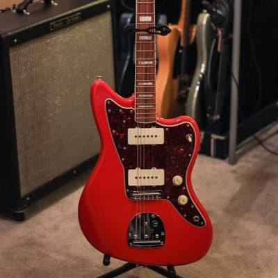 Fender 60th Anniversary Jazzmaster Fiesta Red w/ Fender Hardshell Case Fiesta Red for sale