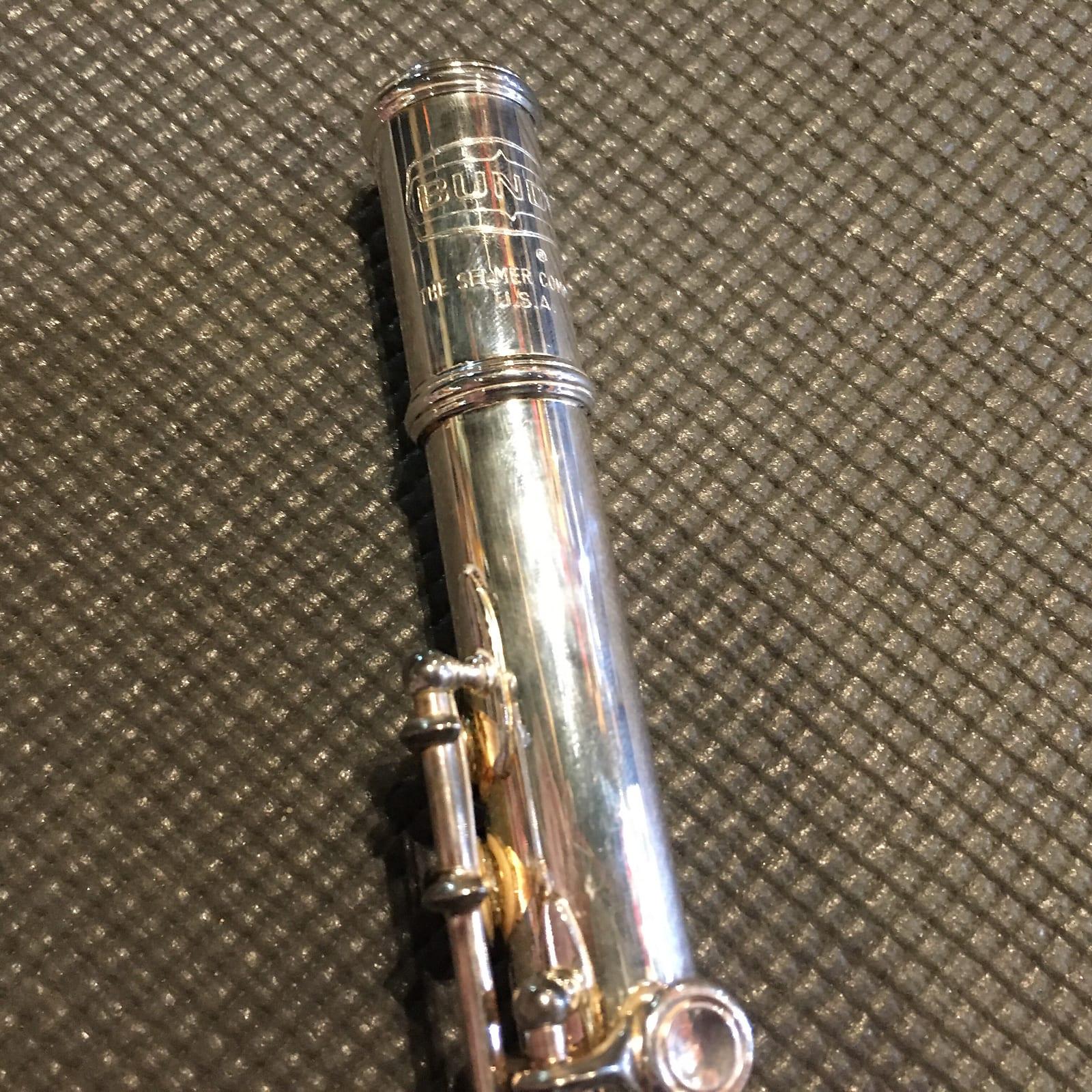 Selmer Bundy 1290S Nickel Silver Vintage Flute c. 1980s