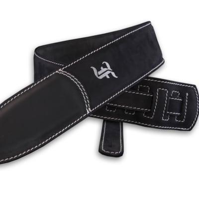 Furch Black Leather Guitar Strap