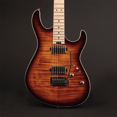 Cort G290FATAVB G Series Flamed Maple Top on Swamp Ash Body Birdseye Neck 6-String Electric Guitar