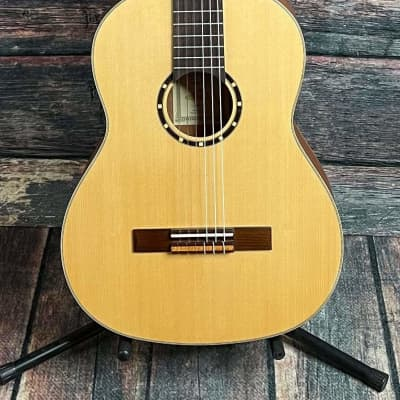 Ortega Left Handed R121L Nylon String Acoustic Guitar for sale