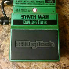 Digitech Synth Wah, N.O.S, 2000's, Atomic Green w George L patch