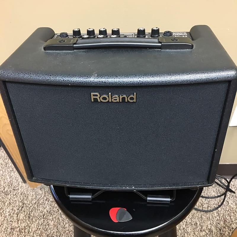 roland ac 33 2x5 acoustic combo amp battery reverb. Black Bedroom Furniture Sets. Home Design Ideas
