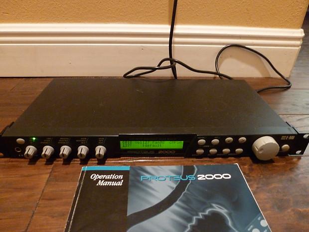 Proteus 2000 manual.