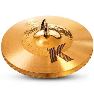 "Zildjian 14.25"" K Custom Hybrid Hi-Hat Cymbals (Pair)"