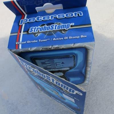 Peterson VS-S StroboStomp Pedal Tuner (NOS) New in Box! for sale