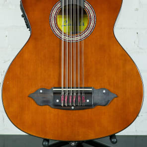 Lucida LG-BS1-E Mexican Bajo Sexto 12-String Acoustic-Electric Guitar