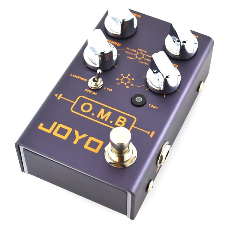 joyo r series r 06 omb looper pedal with drum machine reverb. Black Bedroom Furniture Sets. Home Design Ideas