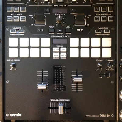 Pioneer DJM-S9 2-channel Mixer for Serato DJ & Case Makers Travel Case
