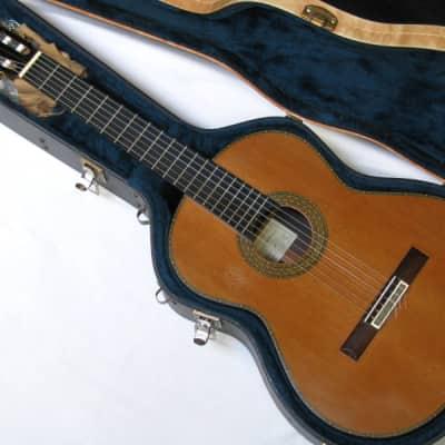 Ignacio Rozas Classical Acoustic guitar nylon strings w/Case for sale