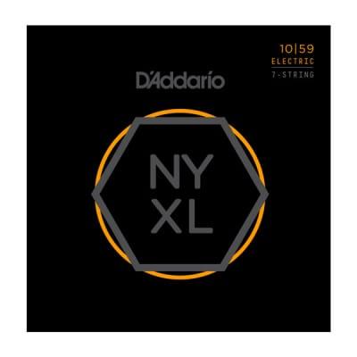 D'Addario NYXL 1059 Nickel Wound, Regular Light, 10-59 7 String