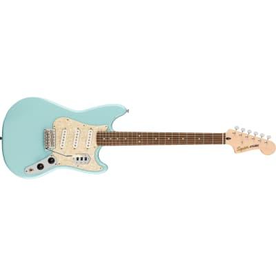 Squier by Fender Paranormal Cyclone Guitar, Laurel Fingerboard, Daphne Blue for sale