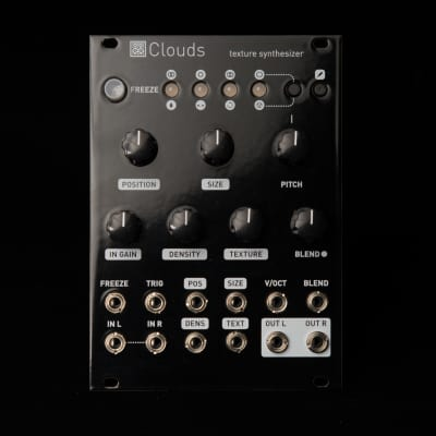 Mutable Instruments Clouds Eurorack Synthesizer Module Clone w/ Black Magpie Panel