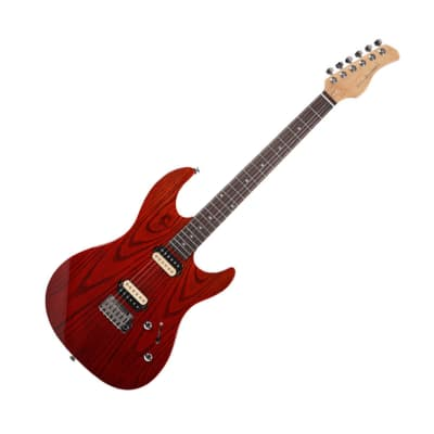 DAME Saint S300 Alder Ash Venner HH Stratocaster Strat Red Gradation for sale