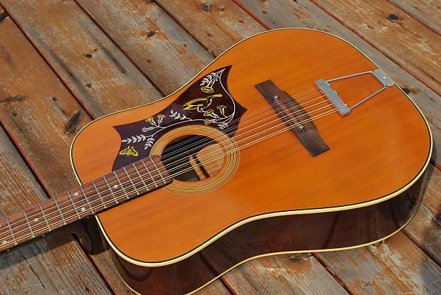 1973 matador tw 13 natural 12 string acoustic guitar reverb. Black Bedroom Furniture Sets. Home Design Ideas
