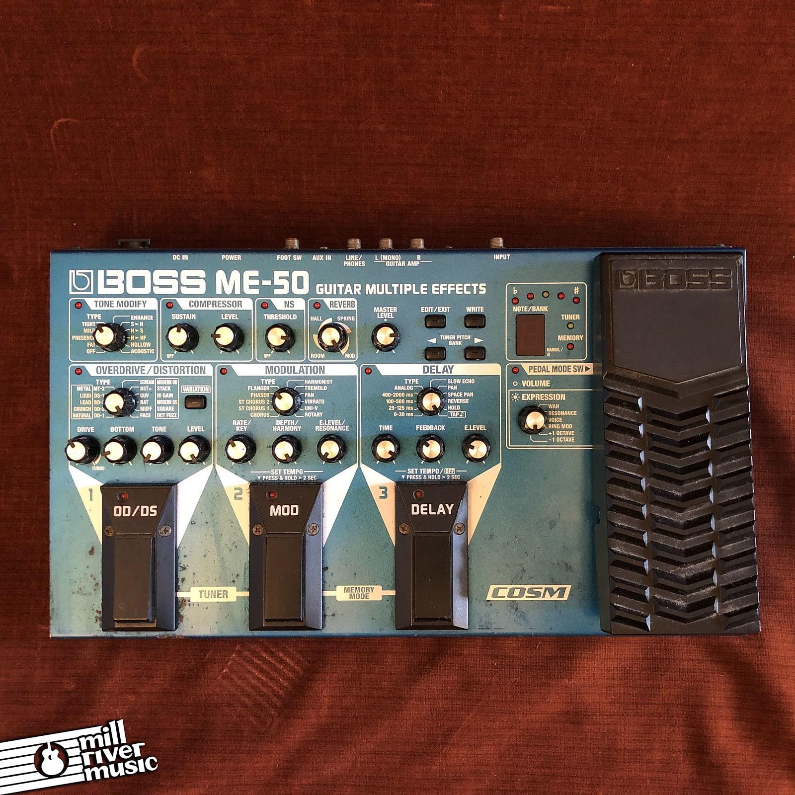 Boss ME-50 Guitar Multiple Effects Processor Pedal 2005