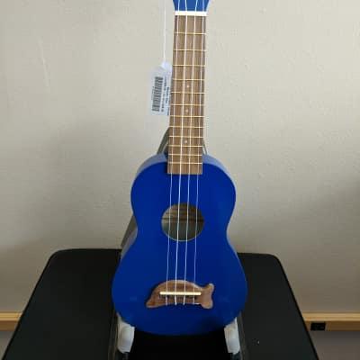 Kala MK-SD/MBL Dolphin Series Soprano Ukulele - Metallic Blue