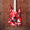 EVH Striped Series Electric Guitar Red with Black Stripes W/ Hardshell EVH Case image