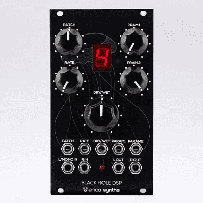 Erica Synths Black Hole DSP Eurorack Effects Module
