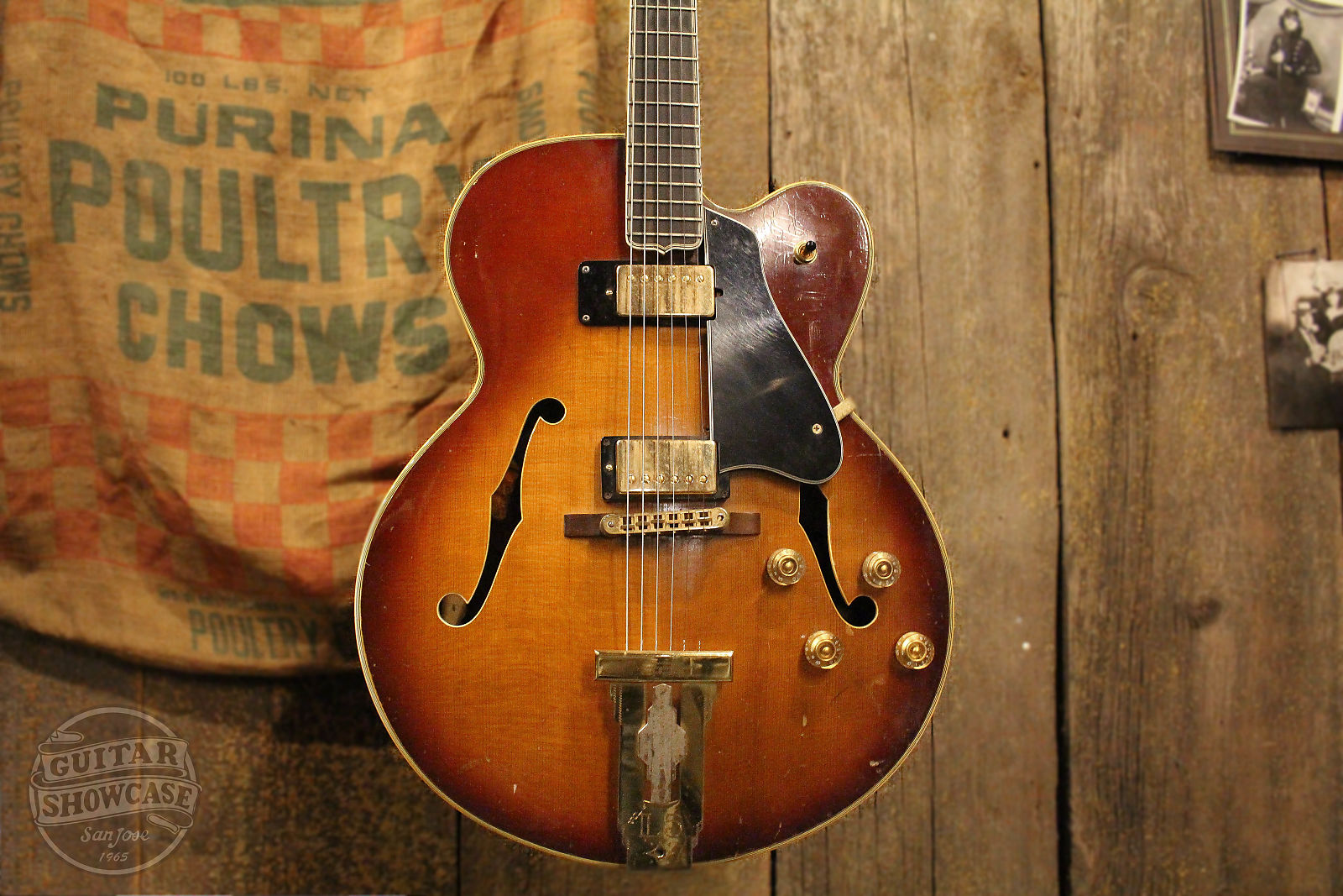 Gibson 1967 L 5 C Conversion Electric Sunburst