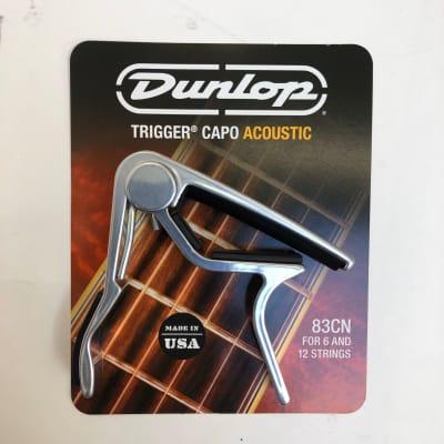 Dunlop Trigger Capo 83CN  2020 Silver