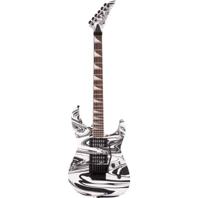 Jackson X Series Soloist SLX DX Swirl, Laurel Fingerboard - Satin White Swirl for sale