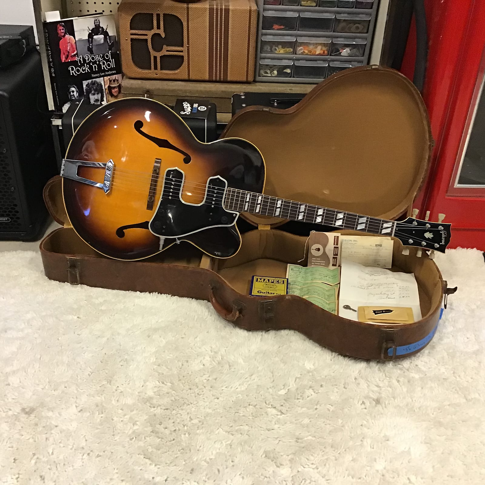 1956 Gibson L7-C w/ McCarty Double Guard