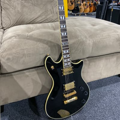 Schecter Tempest Custom Gloss Black w/ Gold Hardware for sale
