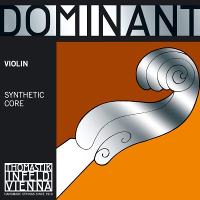 Thomastik-Infeld 130 3/4 Dominant Aluminum Wound Carbon Steel Core 3/4 Violin String - E (Medium)