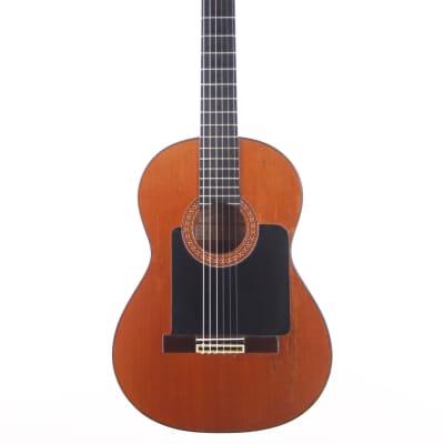 Ricardo Sanchis Carpio flamenco guitar 1983 - cool Estas Tonne black guard look - check video! for sale