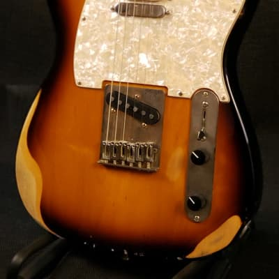 Jam Guitars USA Model-T 2020 Tobacco Burst Relic for sale