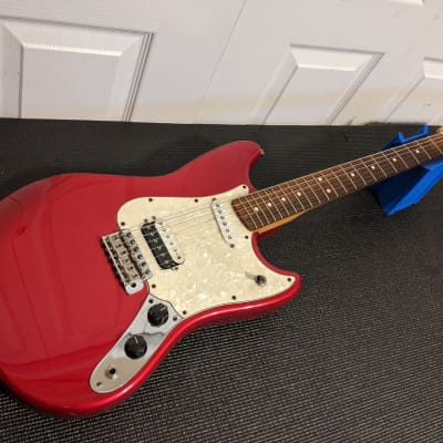 Fender Deluxe Series Cyclone 2000 Candy Apple Red HS Humbucker Single Coil MIM Rosewood Board Neck for sale