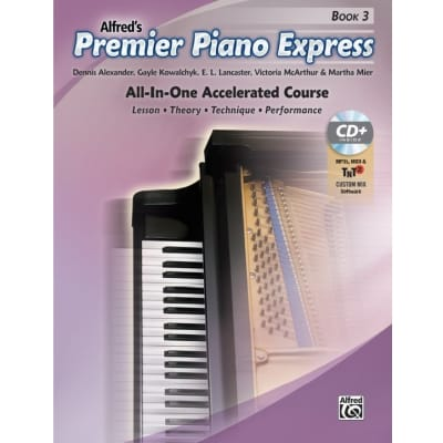 Premier Piano Express: All-In-One Accelerated Course - Book 3 (w/ CD)