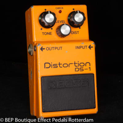 Boss DS-1 Distortion 1981 s/n 129400 Long Dash with Toshiba TA7136AP op amp Japan