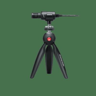 Shure MOTIV MV88+ Video Kit with iOS / USB Condenser Microphone