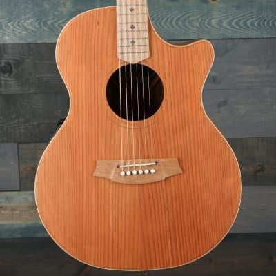 Cole Clark Angel 2 Series AN2EC-RDBL Cutaway Guitar - Redwood/Blackwood for sale