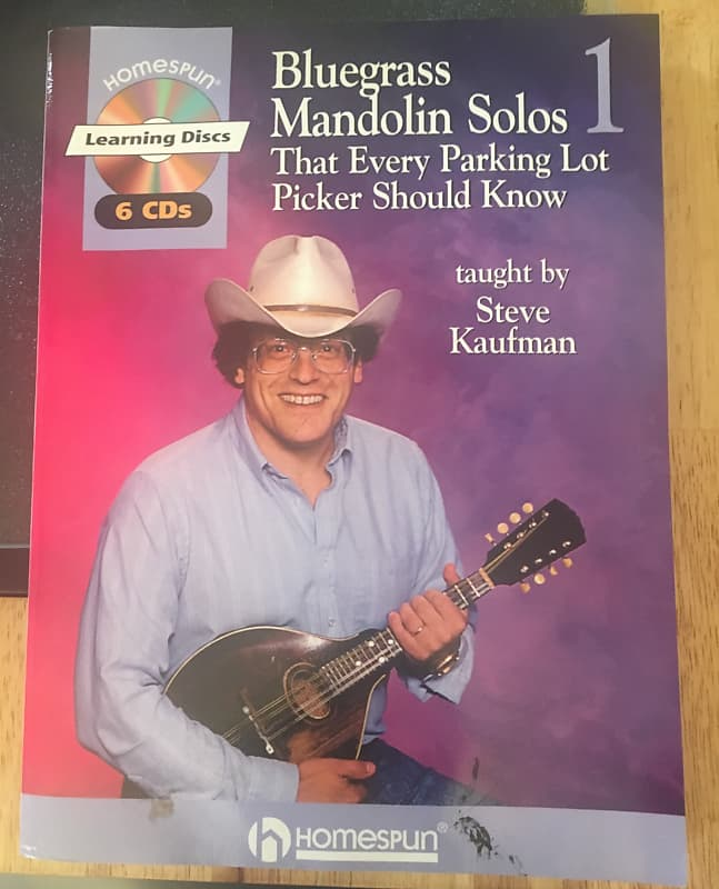Steve Kaufman Bluegrass Mandolin Solos That Every Parking Lot Reverb
