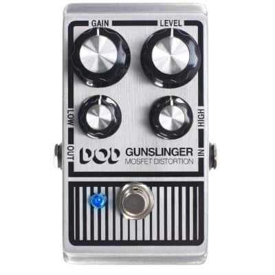 DOD Gunslinger Mosfet Distortion Guitar Effect Pedal for sale