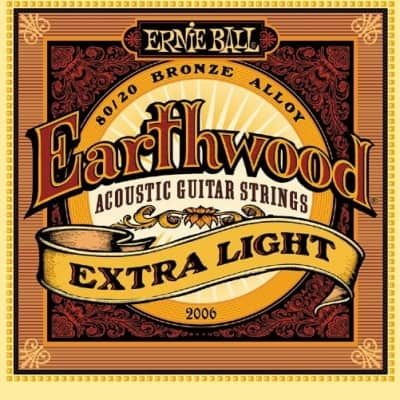 Ernie Ball Earthwood Acoustic Strings - X-Light