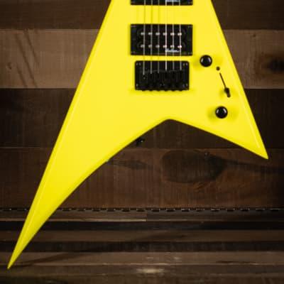 Jackson JS1X RR Minion, Amaranth FB, Neon Yellow