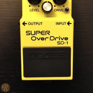 Boss SD-1 Super Overdrive w/ Keeley GE Mod