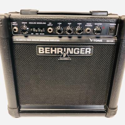 """Behringer GM108 V-Tone 8"""" 15-Watt Guitar Combo"""